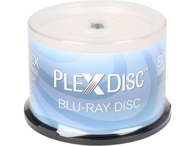 PlexDisc 25 GB 6X BD-R 50 Packs Disc Model 633-814
