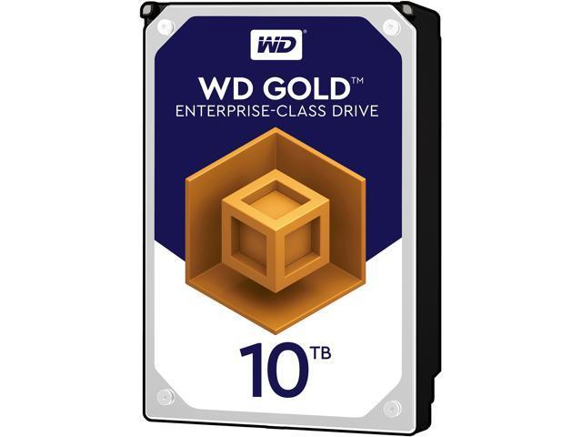 WD Gold 10TB Enterprise Class Hard Disk Drive - 7200 RPM Class SATA 6Gb/s 256MB Cache 3.5 Inch - WD101KRYZ