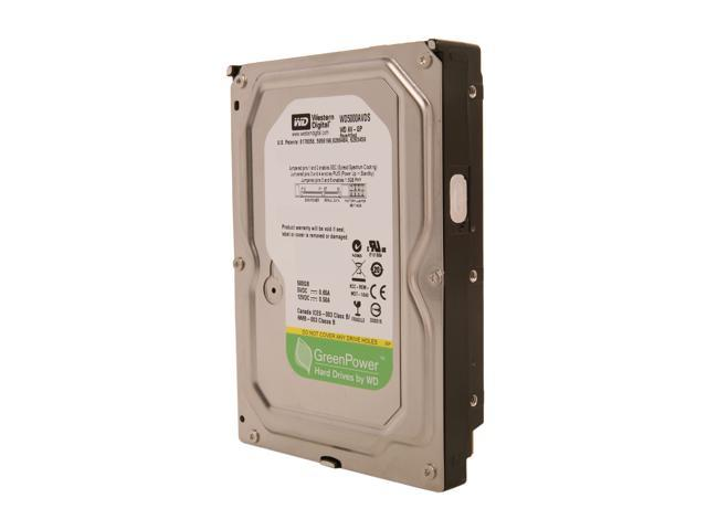 "Refurbished: WD AV-GP WD5000AVDS 500GB IntelliPower 32MB Cache SATA 3.0Gb/s 3.5"" Internal AV Hard Drive Bare Drive"