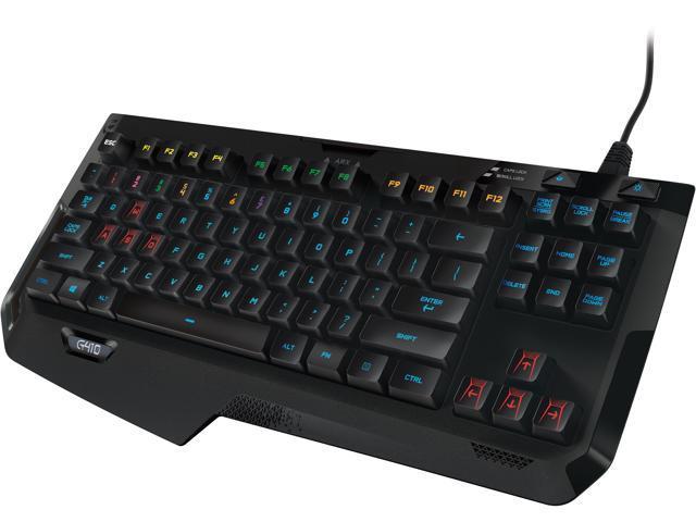 Logitech G410 Atlas Spectrum RGB Tenkeyless Gaming Keyboard