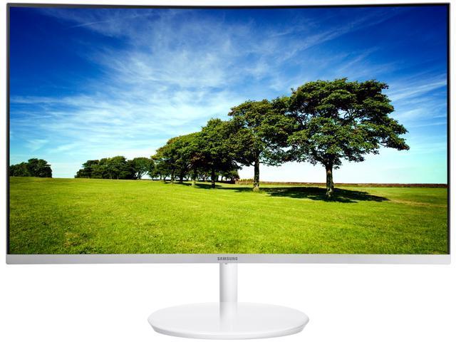"Samsung C27H711 27"" WQHD 2K 2560 x 1440 FreeSync White Curved Monitor, HDMI, Mini DisplayPort"