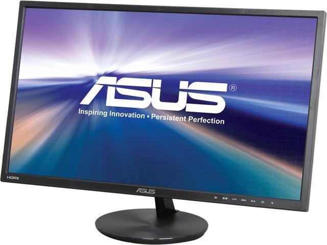 "ASUS VN248H-P Super Narrow Bezel Black 23.8"" 5ms (GTG) HDMI Widescreen LED Backlight LCD Monitor IPS"