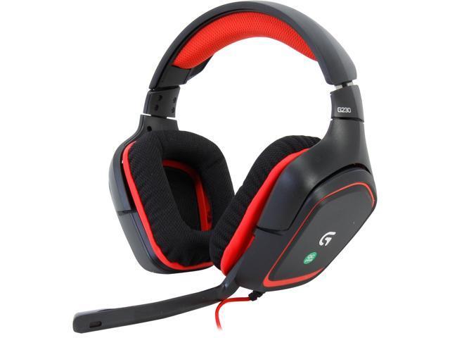 Refurbished: Logitech Recertified 981-000541 G230 Circumaural Gaming Headset