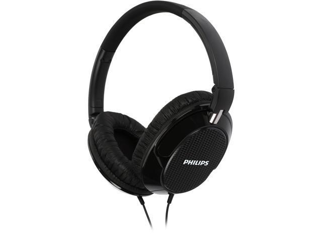 PHILIPS FX3BK Over-ear Headphone - Black
