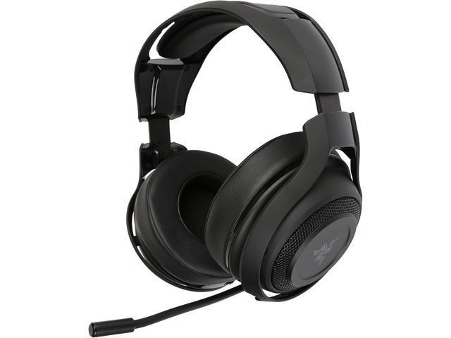 Refurbished: Razer ManO'War (RZ04-01490100) Wireless 7.1 Surround Sound Gaming Headset for PC, Mac, PS4, Steam [Grade-A Certified Refurbished: Like New]