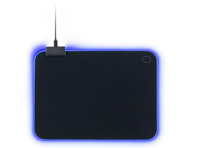 Cooler Master MasterAccessory MP750 Soft Mouse Pad with Water Resistant Surface and Thick RGB Borders - MPA-MP750-M