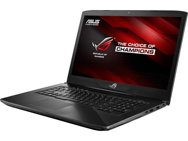 "ASUS ROG STRIX GL703VD GL703VD-DB74 17.3"" 1920 x 1080 Gaming Laptop, GTX 1050 4 GB, Intel Core i7-7700HQ 2.80 GHz, 16 GB DDR4, 256 GB SSD + 1 TB HDD, RGB Keyboard, Windows 10 Home"
