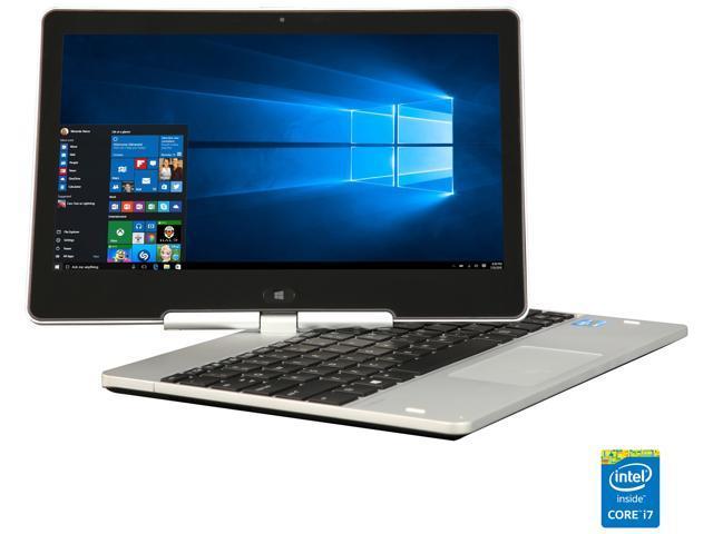 "Refurbished: HP EliteBook Revolve 810 G2 Intel Core i7 4th Gen 4600U (2.10 GHz) 8 GB Memory 120 GB SSD 11.6"" Convertible 2-in-1 Laptop Windows 10 Pro 64-Bit"