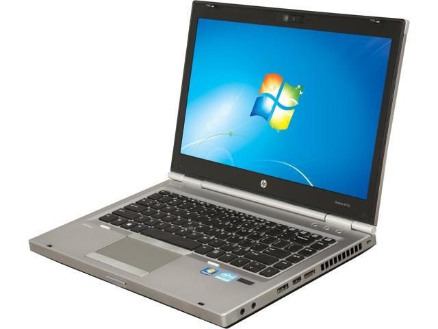 "Refurbished: HP Grade B Laptop 8470p Intel Core i5 3rd Gen 3320M (2.60 GHz) 4 GB Memory 250 GB HDD 14.0"" Windows 7 Professional"