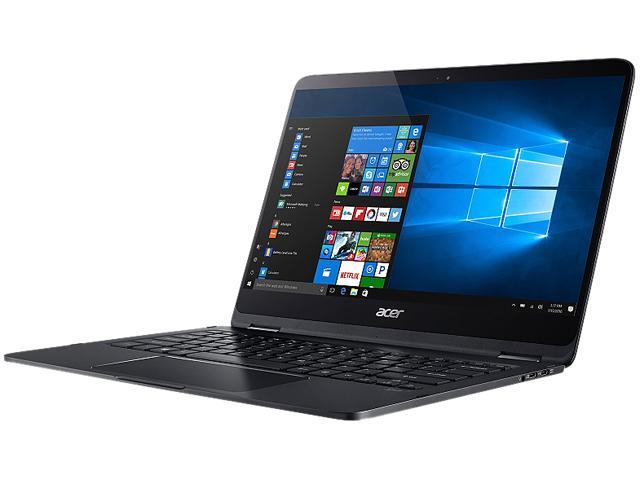 "Refurbished: Acer Laptop Spin SP714-51-M024 Intel Core i7 7th Gen 7Y75 (1.30 GHz) 8 GB LPDDR3 Memory 256 GB SSD Intel HD Graphics 615 14.0"" Touchscreen Windows 10 Home (Manufacturer Recertified)"