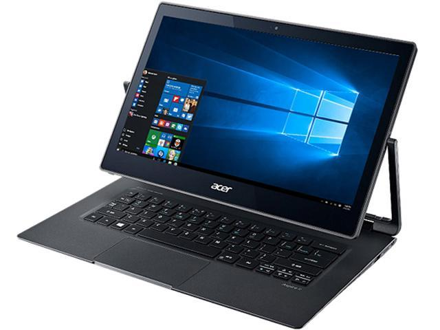 "Refurbished: Acer Laptop R7-372T-74B3 Intel Core i7 6th Gen 6500U (2.50 GHz) 8 GB Memory 512 GB SSD Intel HD Graphics 520 13.3"" Touchscreen Windows 10 Home (Manufacturer Recertified)"