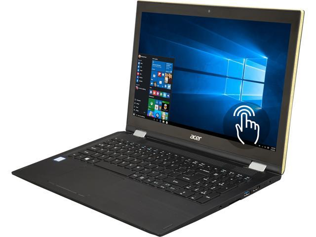 "Refurbished: Acer Spin SP315-51-757C Intel Core i7 7th Gen 7500U (2.70 GHz) 12 GB Memory 1 TB HDD 15.6"" Touchscreen 1920 x 1080 Convertible 2-in-1 Laptop Windows 10 Home 64-Bit (Manufacturer Recertified)"