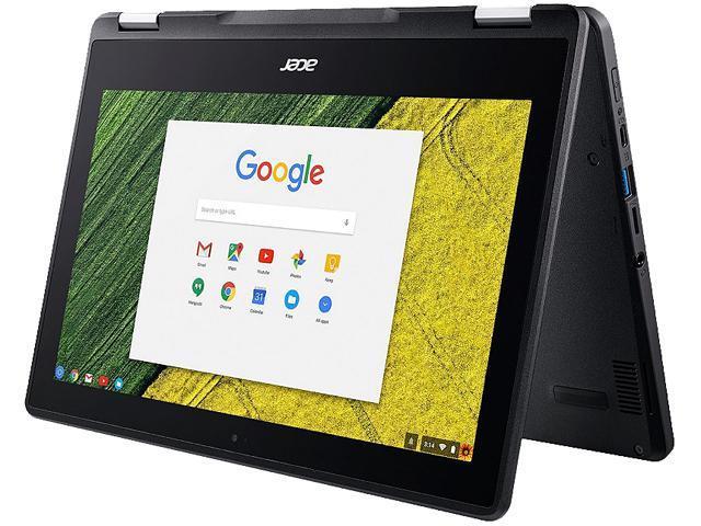 "Refurbished: Acer Grade A R751T-C4XP Spin Chromebook Intel Celeron N3350 (1.1 GHz) 4 GB Memory 32 GB eMMC SSD 11.6"" Touchscreen Chrome OS"