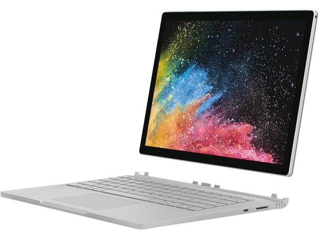 "Microsoft Surface Book 2 HNN-00001 Intel Core i7 8th Gen 8650U (1.90 GHz) 16 GB Memory 1 TB PCIe SSD NVIDIA GeForce GTX 1050 13.5"" Touchscreen 3000 x 2000 Detachable 2-in-1 Laptop Windows 10 Pro"