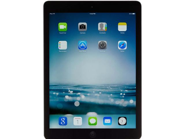 "Refurbished: Apple iPad Air Apple A7 1.40 GHz 1 GB Memory 32 GB Flash Storage 9.7"" 2048 x 1536 - Wi-Fi Only - A Grade iOS 7 Space Gray"