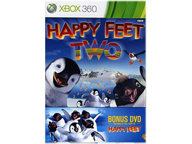 Happy Feet Two W/ Happy Feet DVD Movie Xbox 360