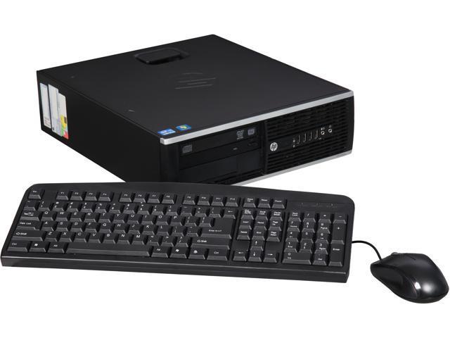 Refurbished: HP B Grade Desktop Computer 8300 Elite Intel Core i5 3rd Gen 3.2 GHz 4 GB DDR3 500 GB HDD Windows 10 Pro 64-Bit