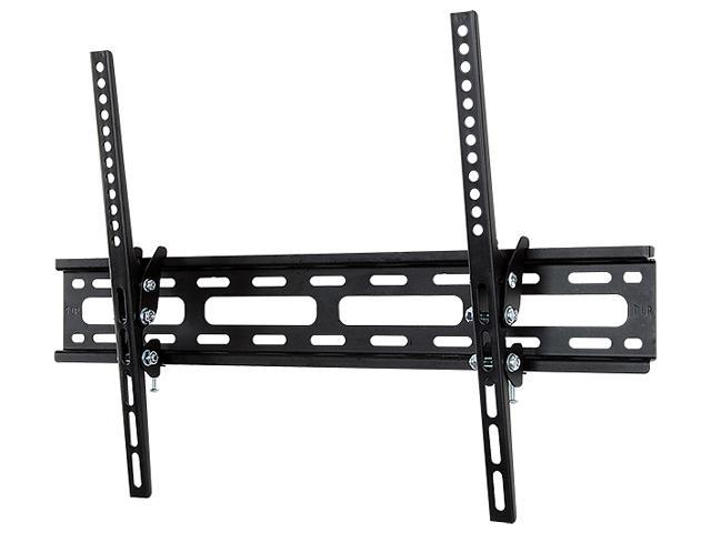 "V7 WM2T77-2N Black 32"" - 65"" Low Profile Wall Mount With Tilt"