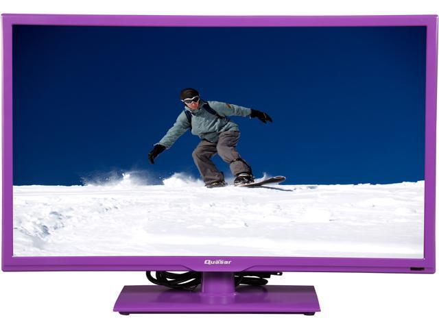 "Refurbished: Quasar 24"" 720p LED-LCD HDTV"