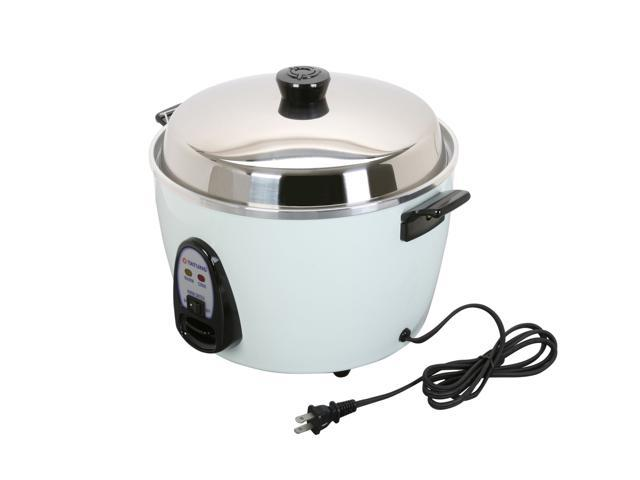 TATUNG Multi-Functional Cooker and Steamer, White, 20 Cups cooked//10 Cups uncooked ,TAC-10G(SF)