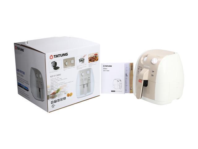 Tatung 1.7 Qt Oilless Electric Air Fryer, TOT-F1300U