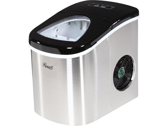 Rosewill RHIM-15002 26.5 lbs. Portable Ice Maker - Stainless Steel