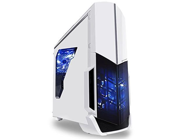 SkyTech ArchAngel GTX 1050 Ti Gaming Computer Desktop PC FX-6300 3.50 GHz 6-Core, GTX 1050 Ti 4GB, 8GB DDR3, 1TB HDD, 24X DVD, Wi-Fi USB, Windows 10 Pro 64-Bit, White (ST-ARCH-GTX1050TI-V1)