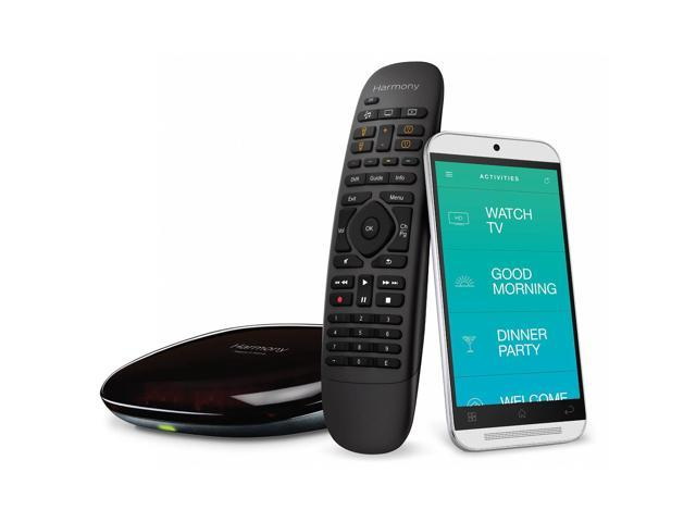 Refurbished: Logitech Harmony Home Wireless Hub with Remote Control & iOS/Android App - Black