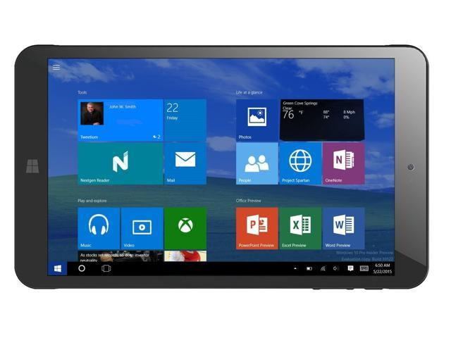 "Refurbished: vitalTEK 8"" IPS Windows10 Quad core 2GB RAM 32GB EMMC Touchscreen Tablet"
