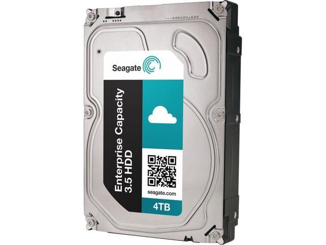 Seagate ST4000NM0014 4TB Enterprise Desktop Hard Disk Drive - 7200 RPM SAS 12Gb/s 128MB 3.5""