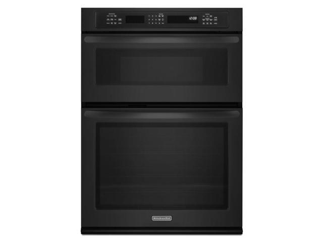 Kitchenaid Architect Series Ii Kems309bbl 30 Inch Convection Combination Microwave Wall Oven Black Neweggflash