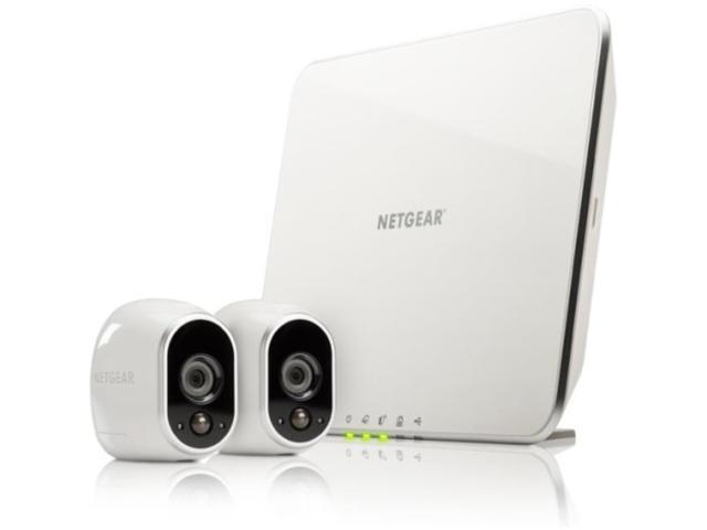 Refurbished: Arlo Security System by NETGEAR - 2 Wire-Free HD Cameras, Indoor/Outdoor, Night Vision VMS3230-100NAR