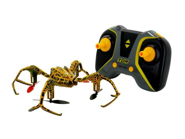 TDR Spider Stunt Quadcopter 6-Axis 2.4 GHz RC Drone with 5 Built-in Stunts for Outdoor and Indoor