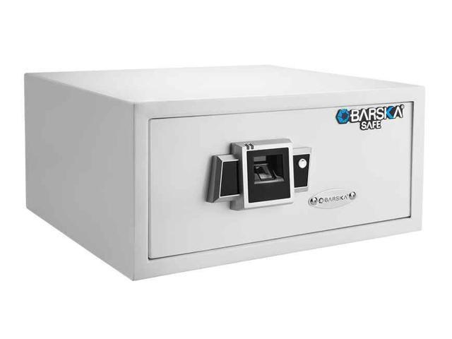 Barska Biometric Fingerprint Safe BX-300 - White