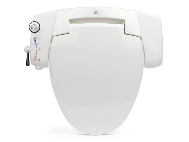 Bio Bidet Premium Non-electric i3000 Bidet Seat for Elongated Toilets in White
