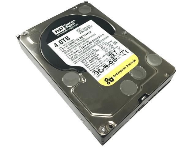"Refurbished: Western Digital RE WD4000FDYZ 4TB 64MB Cache 7200RPM SATA 6.0Gb/s 3.5"" Internal Enterprise Hard Drive - OEM"