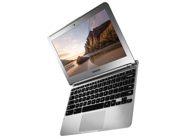 "Refurbished: Samsung Chromebook - 11.6"" Wide LED backlight Screen, Samsung Exynos 5250  Dual Core CPU 1.70GHz, 2GB DDR3, 16GB SSD, WebCam, Google Chrome OS - Grade B"