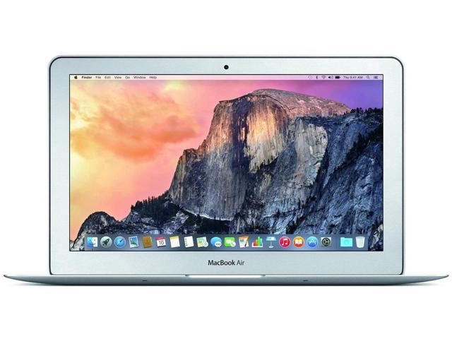 "Refurbished: Apple MacBook Air 11.6"" Laptop - 4th Gen Intel Core i5-4250U 1.30GHz, 4GB Ram, 128GB SSD, MacOS Mojave v10.14 - A1465 MD711LL/A - B Grade"
