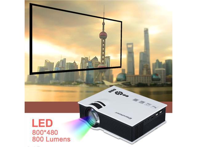 UC40 Pico Portable HD 1080P Home Theater LED Projector HDMI AV USB VGA