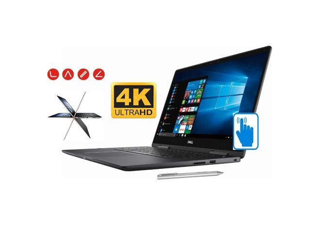 """Dell 15.6"""" UHD 4K Convertible 2-in-1 Touchscreen Home and Business Laptop (Intel 8th Gen i7-8550U Quad-Core, 32GB RAM, 1TB PCIe SSD, 15.6"""" UHD 3840 x 2160 Touch, GeForce MX130, WiFi, Win 10 Pro)"""