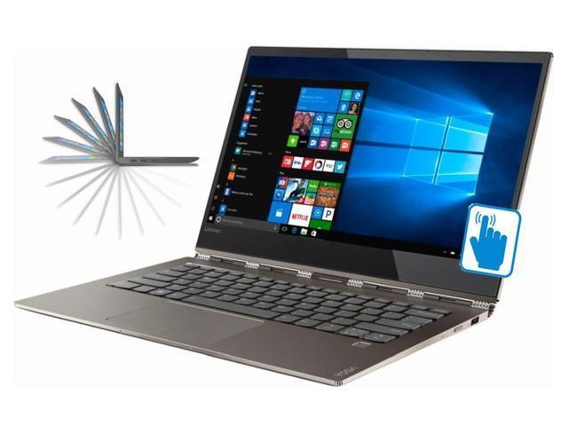 "Lenovo Yoga 920 13.9"" Full HD Premium Convertible 2-in-1 Thin and Light Laptop (Intel 8th Gen i7-8550U 4-C, 8GB RAM, 2TB PCIe SSD, 13.9"" FHD 1920x1080 Touch, Fingerprint, Thunderbolt3, Win 10 Pro)"