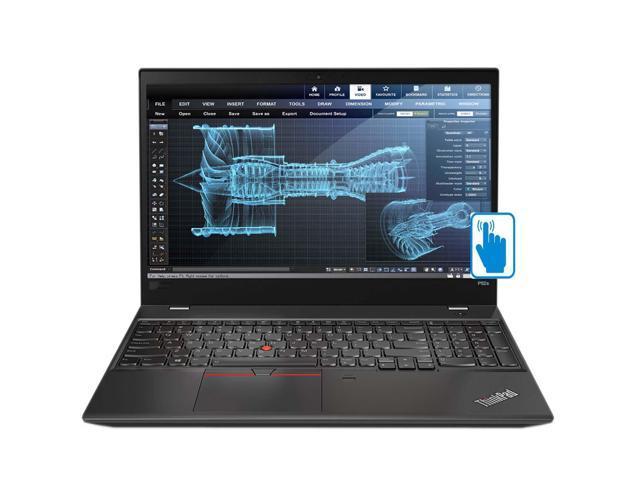 "Lenovo ThinkPad P52s 15.6"" Touchscreen School and Business Laptop (Intel 8th Gen i7-8550U 4-Core, 32GB RAM, 512GB PCIe SSD, 15.6"" FHD 1920x1080 Touch, Quadro P500, Fingerprint, dTPM, Win 10 Pro)"