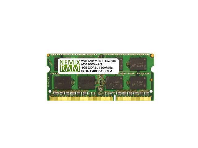 4GB (1x4GB) DDR3 1600 (PC3 12800) SODIMM Laptop Memory RAM