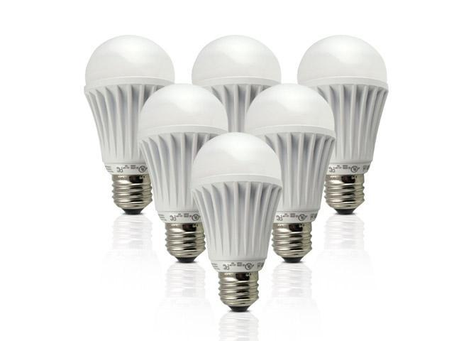 TESS LED Light Bulb - 7W E26 E27 A19 120V Cree LED Chip, Non-Dim, 120 Beam Angle, 40W Equivalent (6 Pcs) - Warm White
