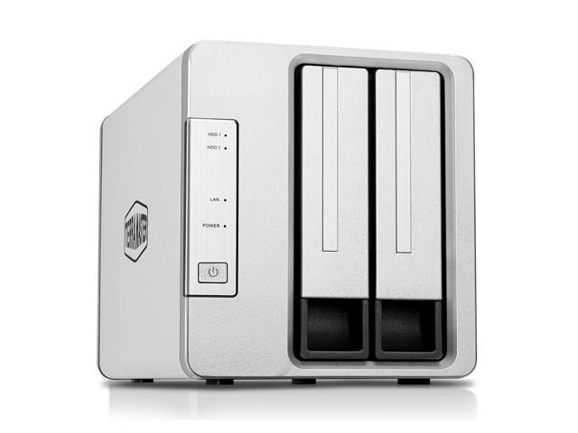TerraMaster F2-210 2-bay NAS  Quad Core CPU 4K Transcoding Media Server Personal Cloud Storage (Diskless)
