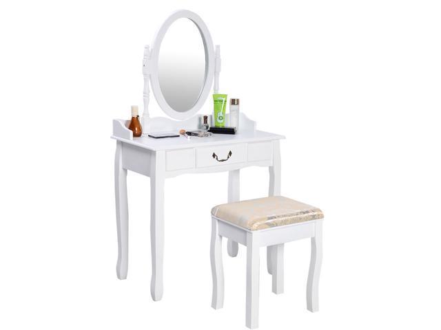 Makeup vanity bench