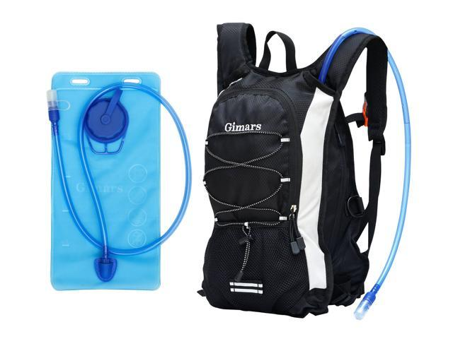 Gimars Good Storage Water-Resistant Hydration Pack with 2L Backpack Water Bladder Fits All Men & Women, Great for Hiking, Bike Trip, Climbing, Hydro Backpack, Running, Riding and More Exercise