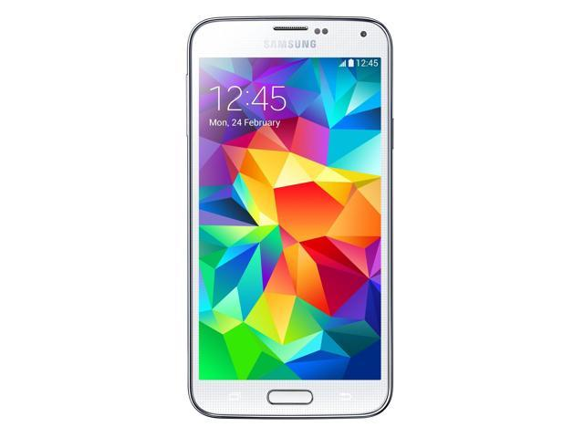 Refurbished: Samsung Galaxy S5 G900A 16GB Unlocked GSM Certified Phone - White