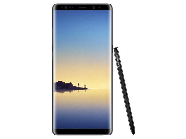 Refurbished: Samsung Galaxy Note8 N950U 64GB Unlocked GSM LTE Android Phone w/ Dual 12 Megapixel Camera - Midnight Black
