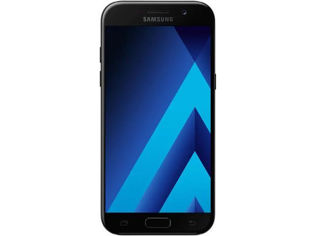 Refurbished: Samsung Galaxy A520W 32GB Unlocked GSM LTE Andoid Phone w/ 16MP Front+Rear Camera's - Black Sky